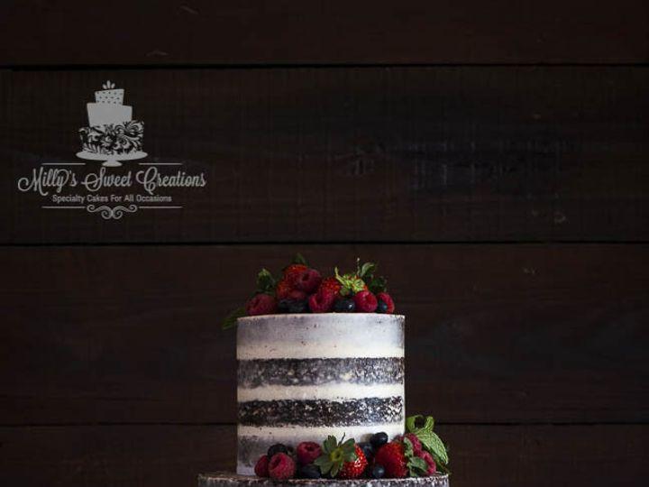 Tmx 1474335797112 Rustic Semi Naked Chocolate Grooms Cake 003 Cleburne, Texas wedding cake
