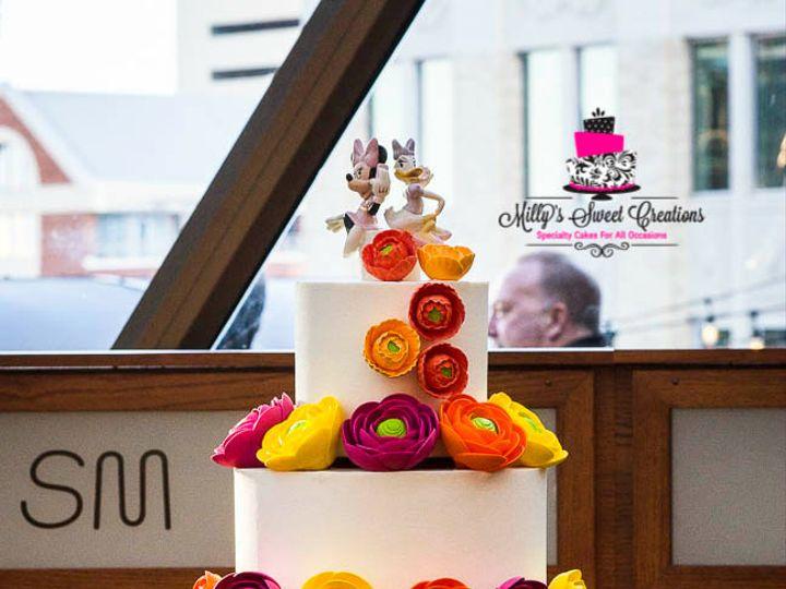Tmx 1480220598589 Fall Autumn Wedding Cake And Cupcakes 001 Cleburne, Texas wedding cake