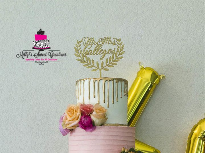 Tmx 1503283320397 Coral Pink Ombre And Gold With Different Texture D Cleburne, Texas wedding cake