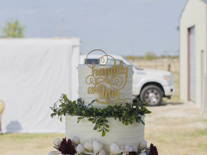 Tmx 1509953551984 Romantic Classic Rustic Textured Buttercream Weddi Cleburne, Texas wedding cake