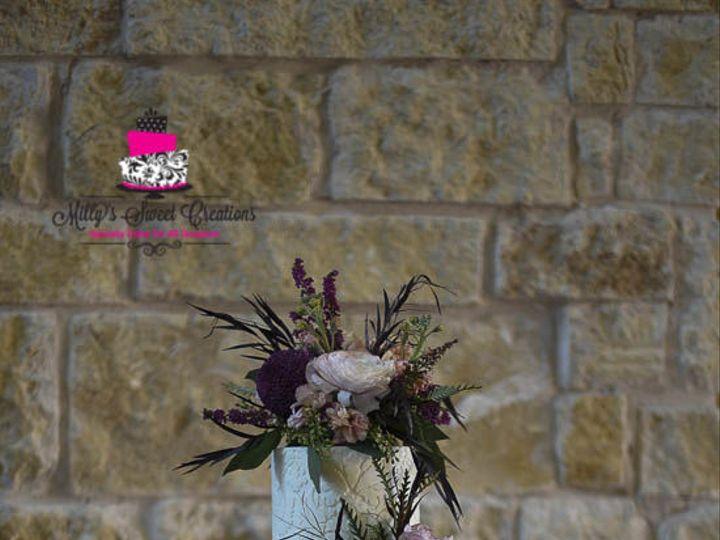 Tmx 1516585145 D8f323a1b8ee8576 1516585144 67218b03e046a484 1516585142252 1 Damask Wedding Cak Cleburne, Texas wedding cake