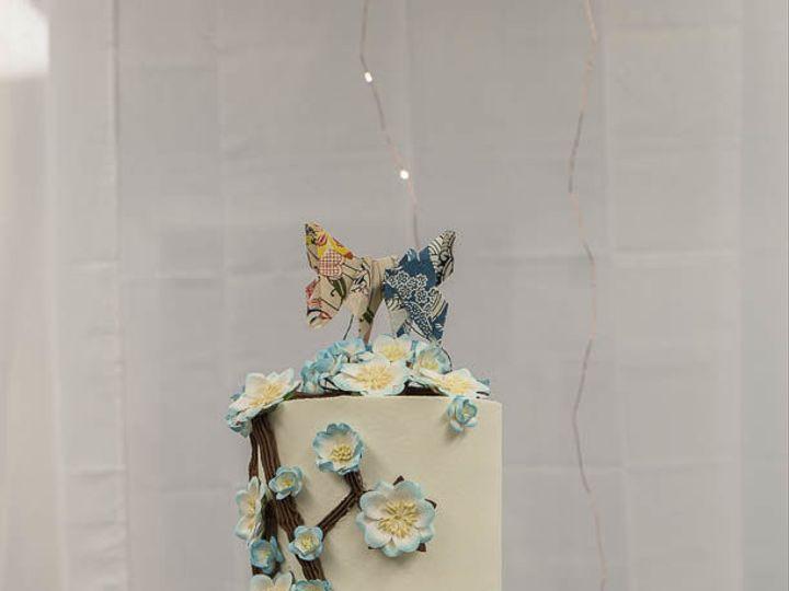 Tmx 1524365956 8b1965d8d115abfc 1524365955 49b1d7d2574f45c8 1524365963589 1 Cherry Blossom Wed Cleburne, Texas wedding cake