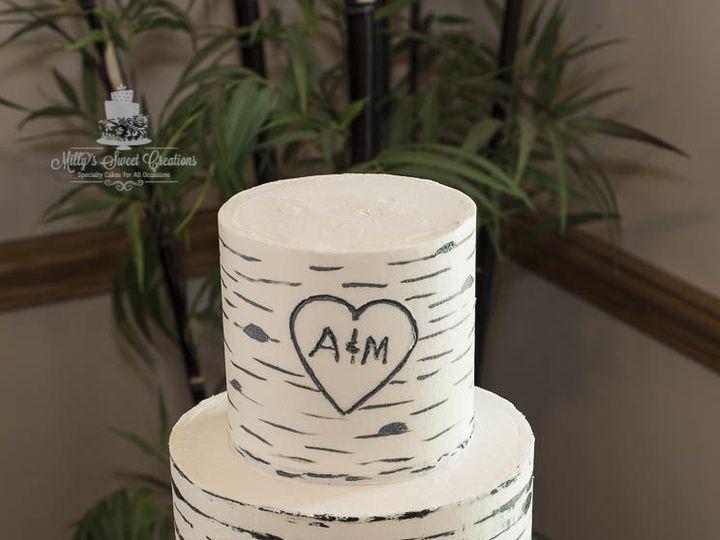 Tmx 1526876807 F86dc5c88c513f3f 1526876806 0673b53b35f9d16b 1526876812390 2 Buttercream Birch  Cleburne, Texas wedding cake