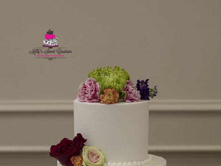 Tmx 1532897239 C79935be1421e4d8 1532897238 00d97671d40d57f7 1532897281131 1 Smooth Buttercream Cleburne, Texas wedding cake