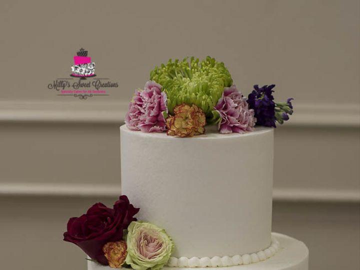 Tmx 1532897301 6c27efad570d54f7 1532897299 Aa40cd2be3b943df 1532897342726 3 Smooth Buttercream Cleburne, Texas wedding cake