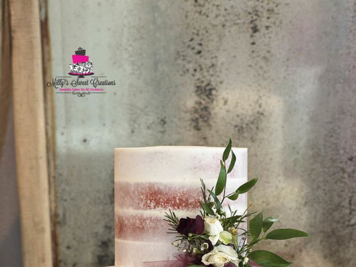 Tmx 1532914824 Fb3f5546114ba44b 1532914823 35c26bb26fd9c451 1532914867024 1 Semi Naked Pink We Cleburne, Texas wedding cake