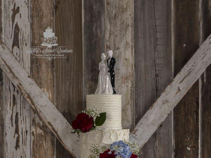 Tmx 1536266495 B6206faa3348388d 1536266494 06e861cfd13dfa02 1536266562442 1 5Tiers Rustic Text Cleburne, Texas wedding cake