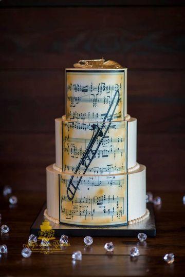 trombone inspired grooms cake 008 51 529340 1556500125