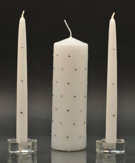 Bridal Bliss Unity Candle Set...