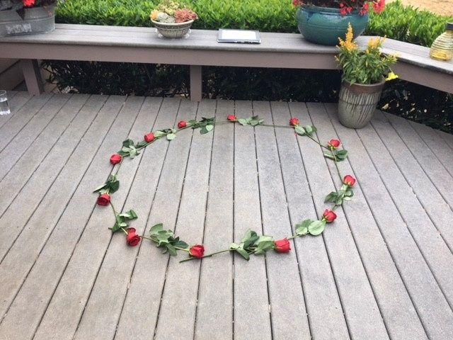 Rose Circle for Wedding