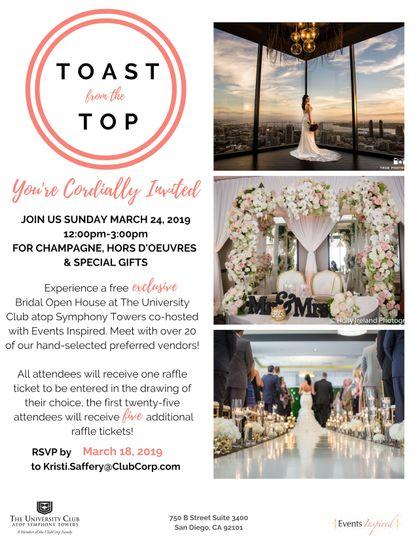 Bridal Open House TFTT 2019