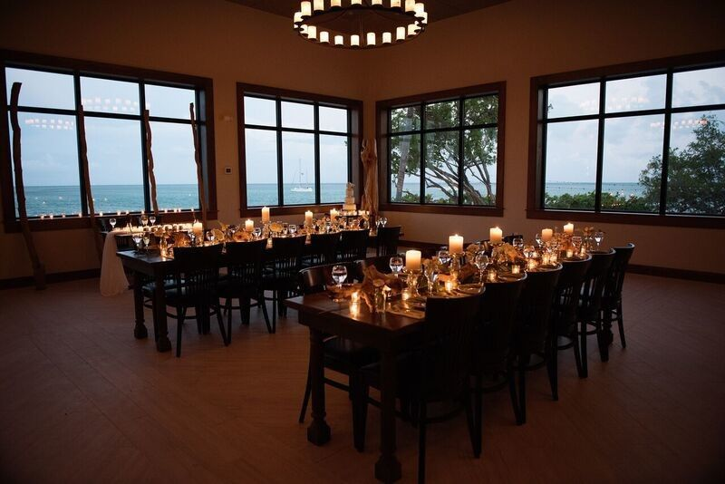 Private dining setup