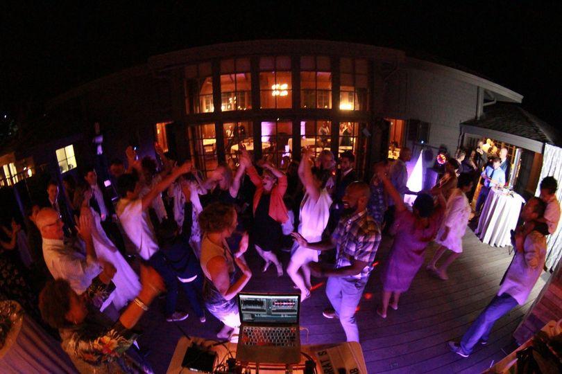 Small wedding dance floor
