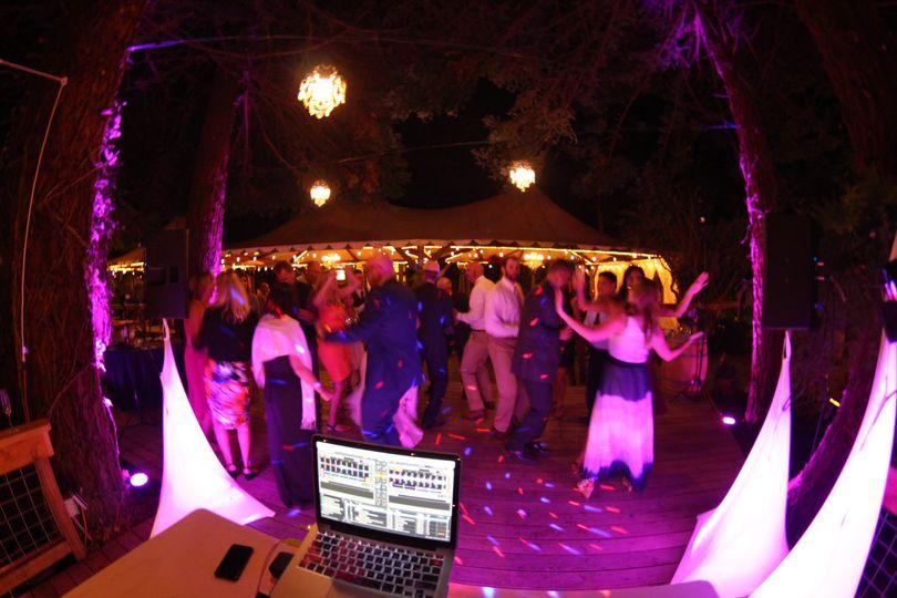 Dance Floor with lighting