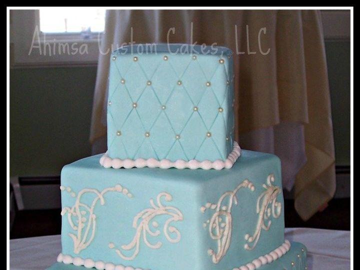 Tmx 1341970754273 Tiffanybluewatermark Auburn wedding cake