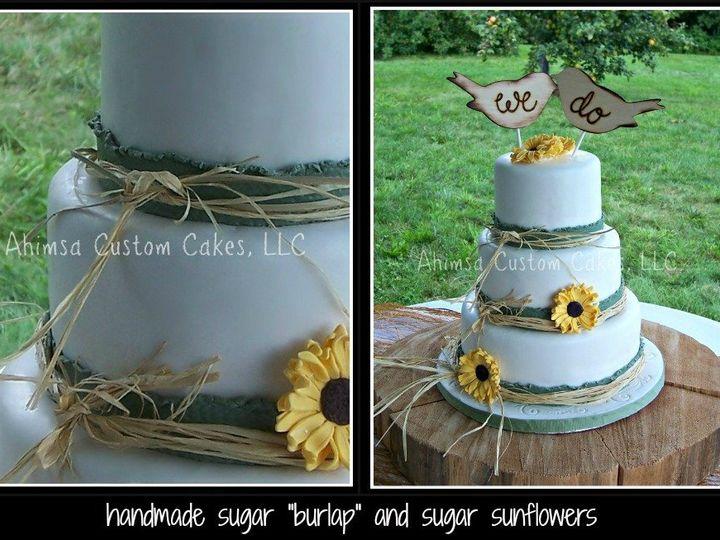 Tmx 1347830598688 JenniCollage Auburn wedding cake