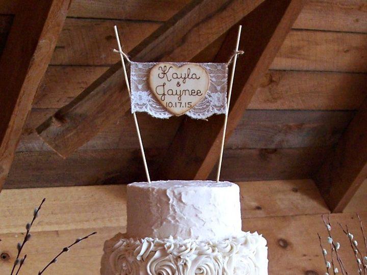 Tmx 1446093480400 Kayla And Jaynee Watermark Auburn wedding cake