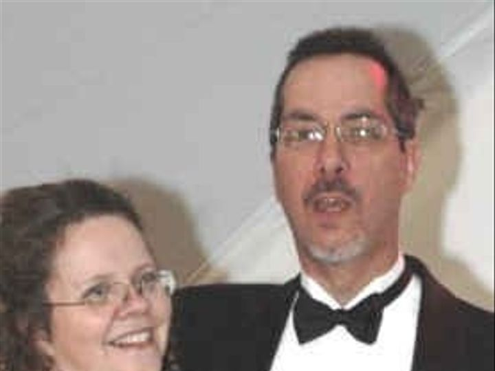 Tmx 1199729545193 Dj Bob In Tux With Nans Tonganoxie wedding dj