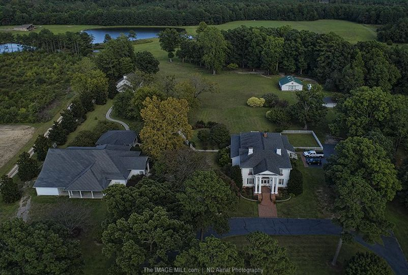 Hudson Manor Estate Aerial