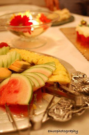 The fruity meal
