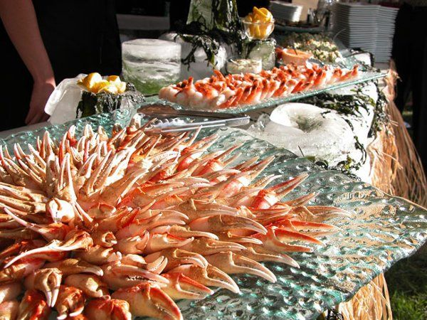 Tmx 1274979992333 SeafoodBuffet2 Bend wedding catering