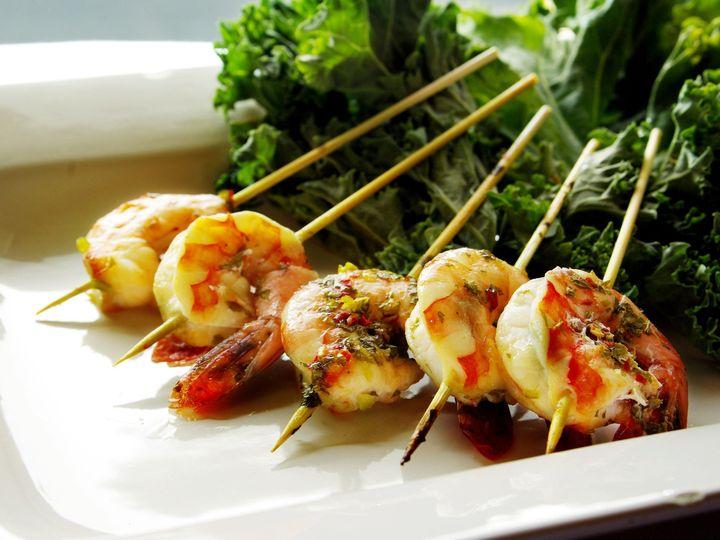 Tmx 1366825377010 Chili Shrimp Skewers 2 Bend wedding catering