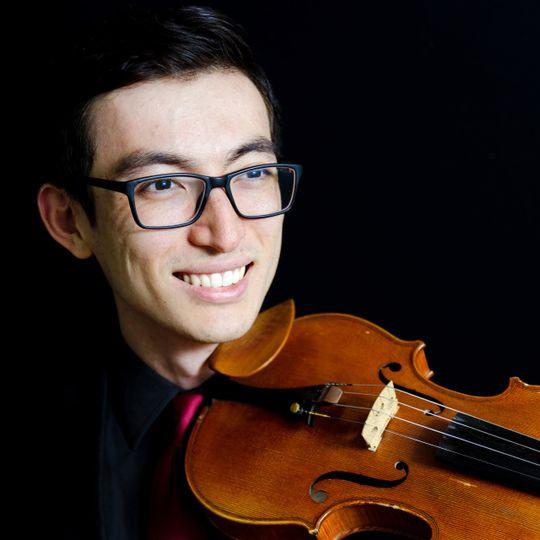 Talented violinist