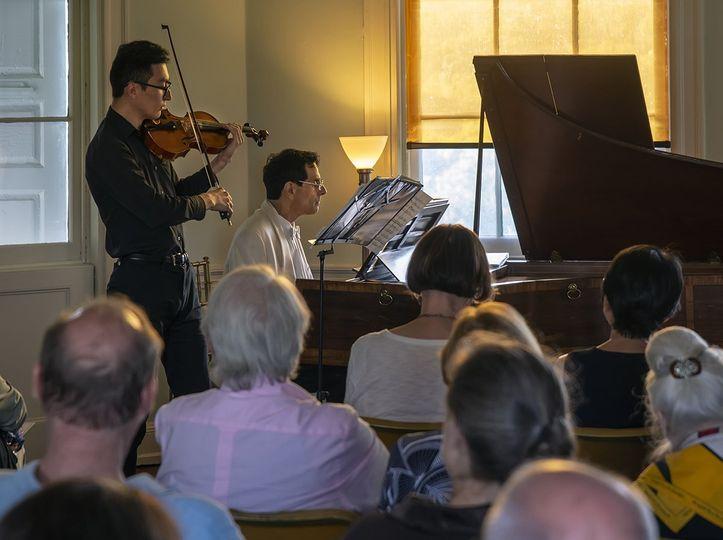 Recital at Laurel Hill Mansion