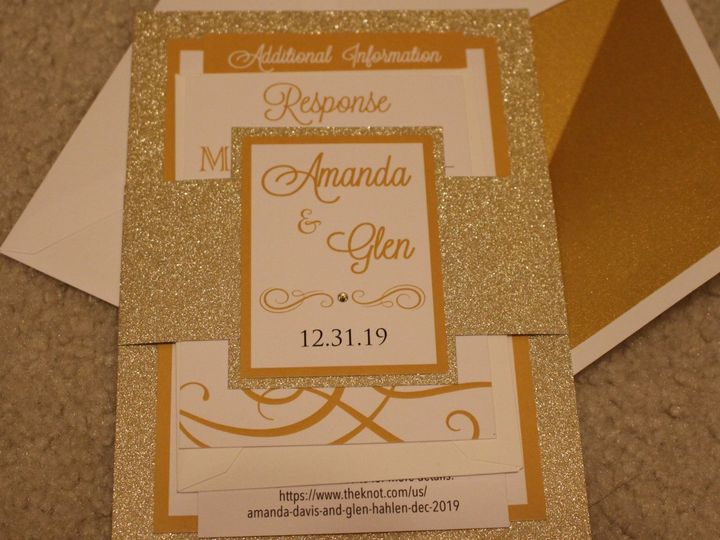 Tmx Davis2 51 733540 157897091482664 North Canton, OH wedding invitation