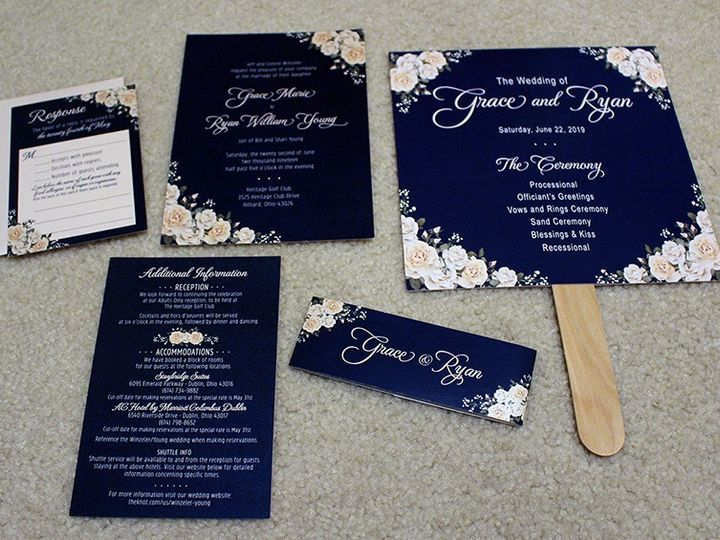 Tmx Winzeler2 51 733540 157897086590516 North Canton, OH wedding invitation