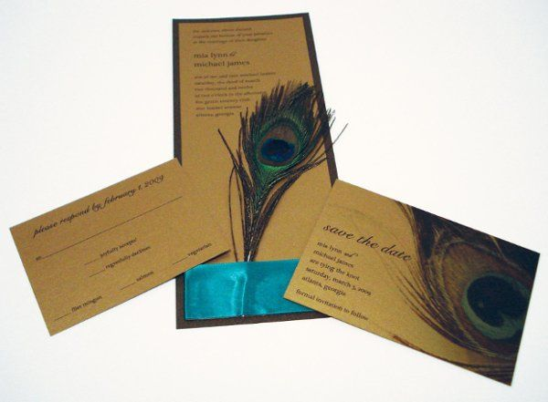 this invite is decadent! this extra tall panel style invitation makes a dramatic statement! it's...