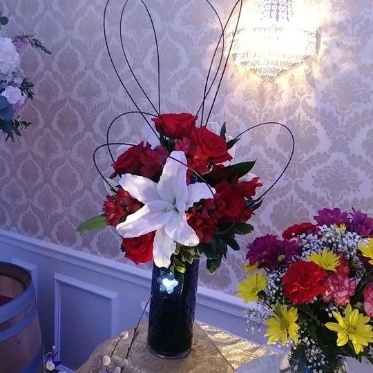 Up arrangement