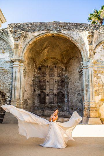 Mission San Juan Bridal