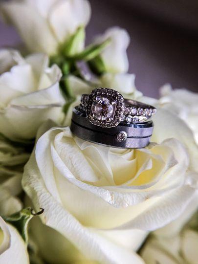Rings on a flower