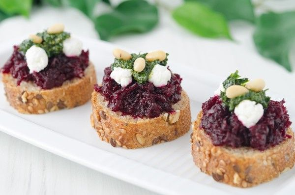 goat cheese beets