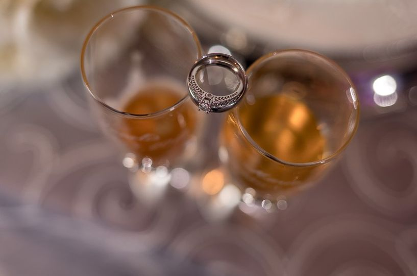A Toast to the Bride and Groom