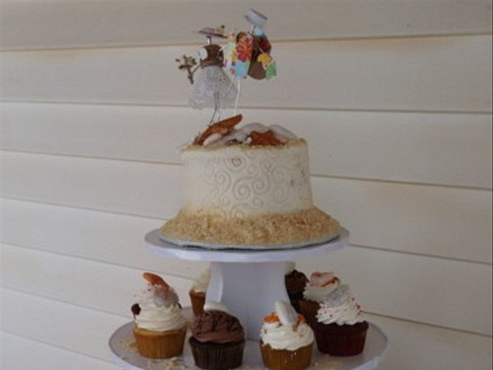 Tmx 1453741116295 Beach Wedding Tower South Berwick wedding cake