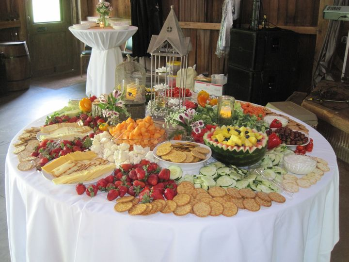 Appetizers table