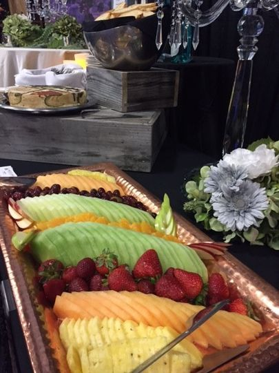 Seasonal fruit tray