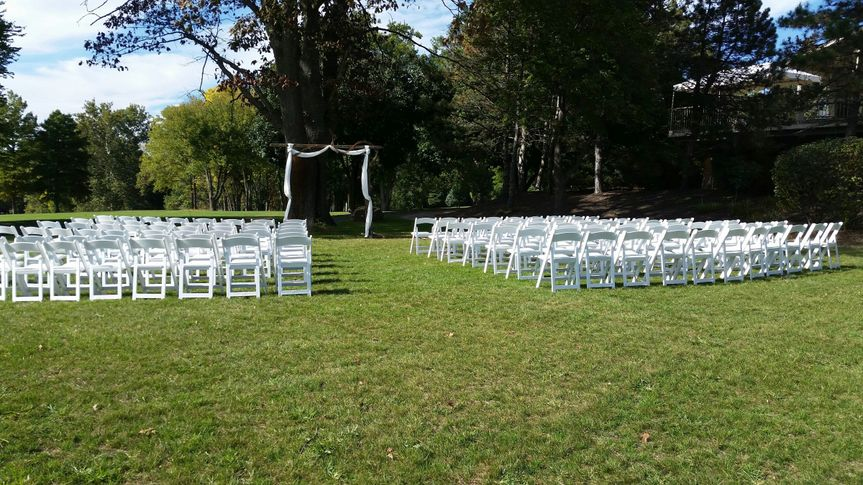 Basic set for the ceremony
