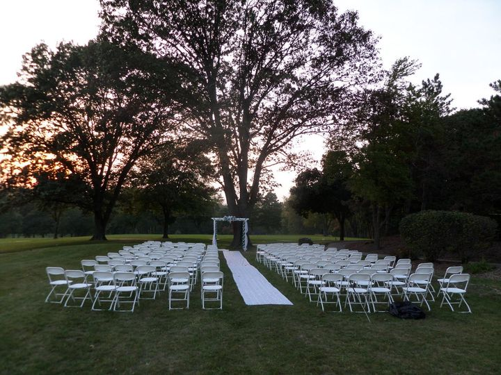 Basic ceremony set up