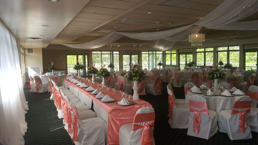 head table view