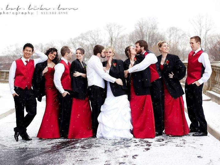 Tmx 1365189422427 Luke  Kylie Outside Riverview wedding dress