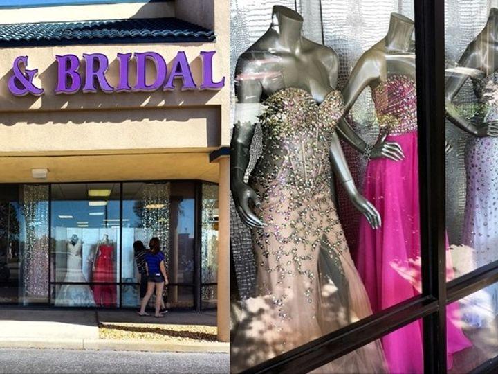 Tmx 1414689135102 Storefront Collage Riverview wedding dress