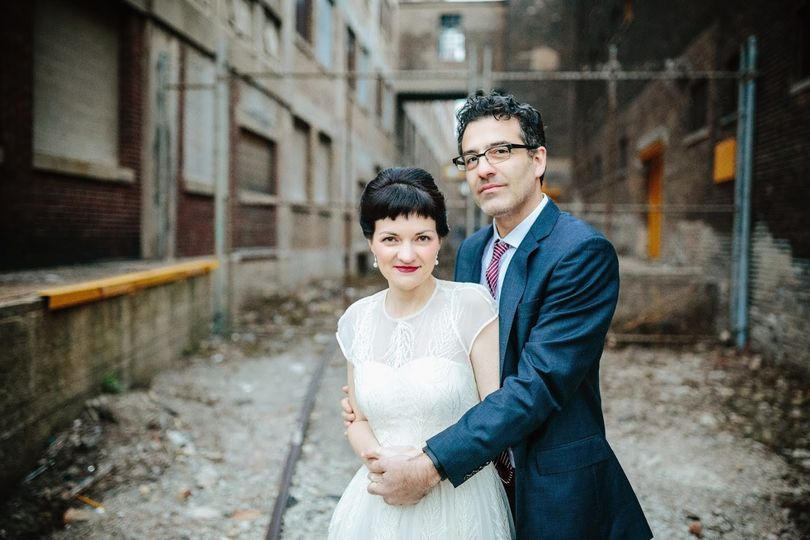The happy couple - Mark Federighi Photography