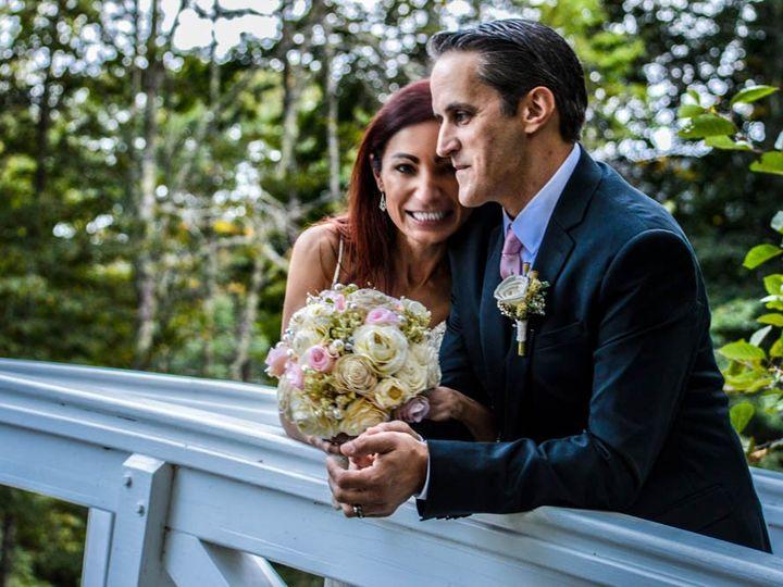Tmx Julia Chad Somesville Bridge 1 51 984640 159299268377095 Bar Harbor, ME wedding officiant