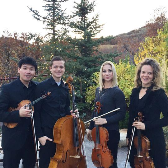 string love utah string quartet blue sky ranch