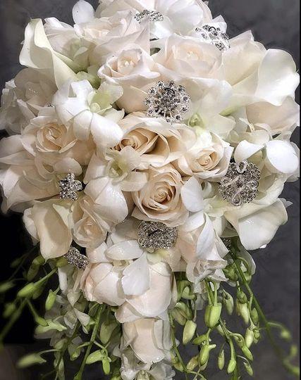 Bridal Bouquet wth Gems