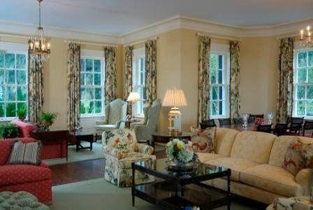 Inside the Main House - Living Room