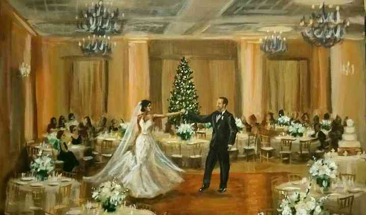 Michigan Wedding Painter